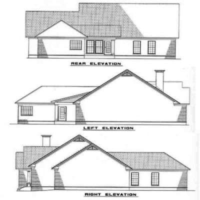 Rear Elevations Plan:12-239