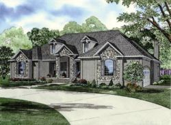 European Style Floor Plans Plan: 12-241