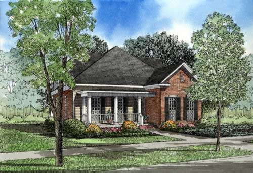 Southern Style House Plans Plan: 12-243