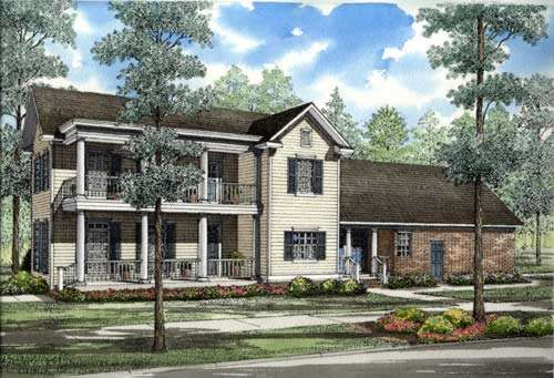 Traditional Style Floor Plans Plan: 12-245