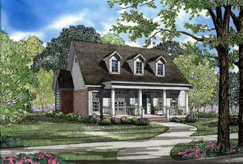 Southern Style House Plans Plan: 12-247