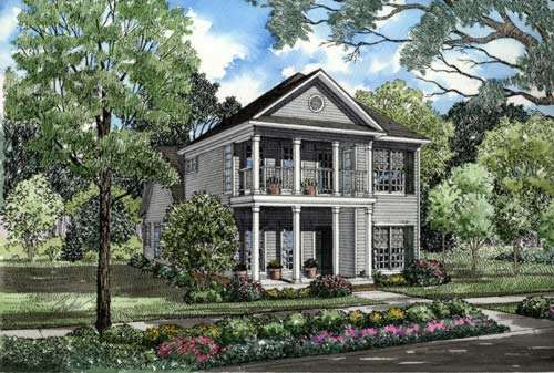 Southern Style Floor Plans Plan: 12-251