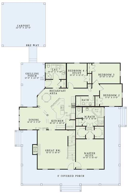 Main Floor Plan: 12-255