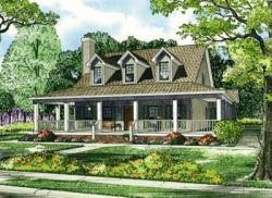Farm Style House Plans Plan: 12-255