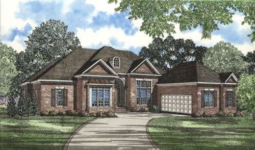 Traditional Style Floor Plans Plan: 12-257