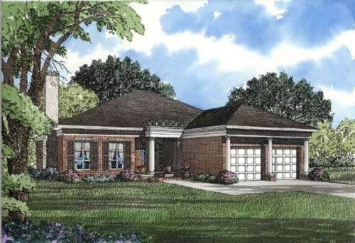 Southern Style House Plans Plan: 12-259
