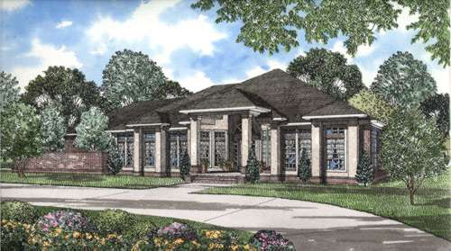 Contemporary Style Floor Plans Plan: 12-264