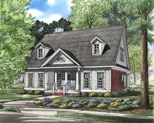 Southern Style Floor Plans Plan: 12-267