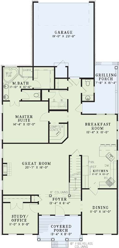 Main Floor Plan: 12-267