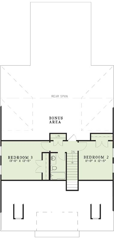 Upper/Second Floor Plan: 12-267