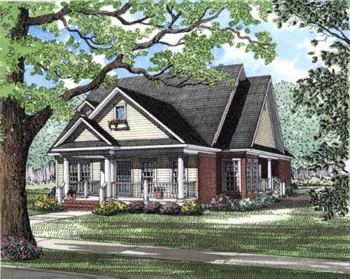 Southern Style House Plans Plan: 12-268