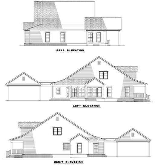 Rear Elevations Plan:12-270