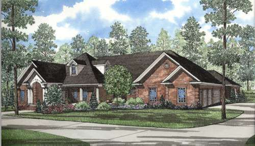 Traditional Style Floor Plans Plan: 12-271