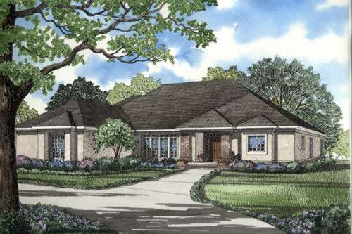 Traditional Style House Plans Plan: 12-274