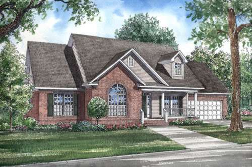 Traditional Style Floor Plans Plan: 12-276