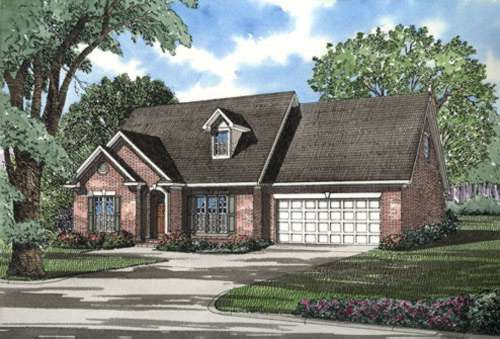 Traditional Style Home Design Plan: 12-278