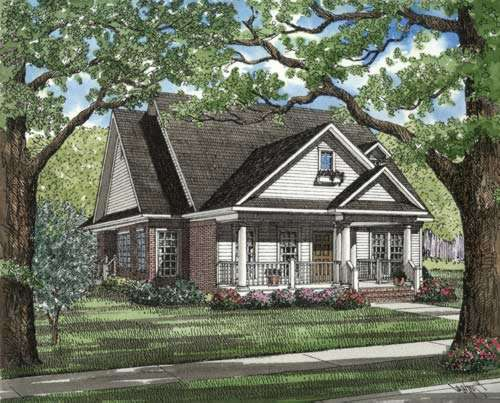 Southern Style House Plans Plan: 12-279