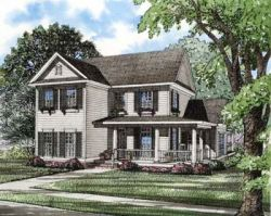 Country Style Home Design 12-280