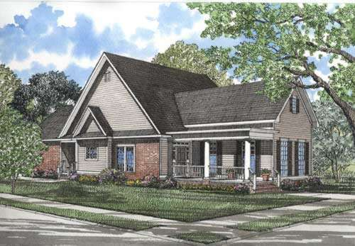 Southern Style Floor Plans Plan: 12-281
