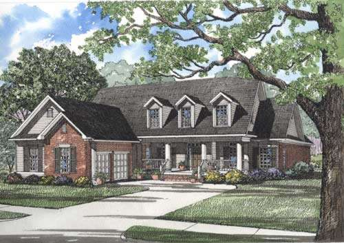Southern Style House Plans Plan: 12-282