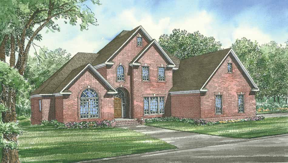 Traditional Style Floor Plans Plan: 12-289