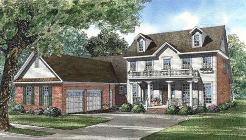 Southern Style House Plans Plan: 12-290