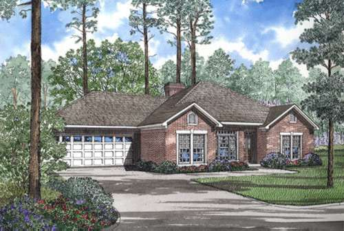 Traditional Style Home Design Plan: 12-291