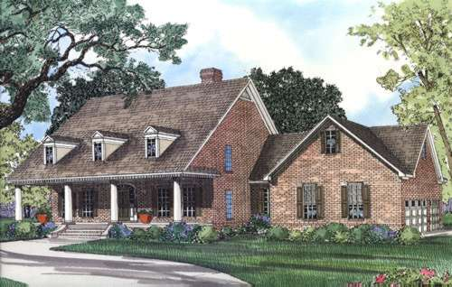 Southern Style House Plans Plan: 12-303