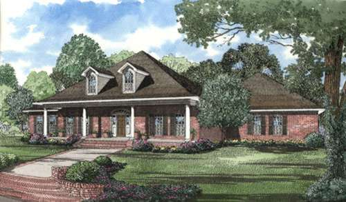 Southern Style House Plans Plan: 12-309