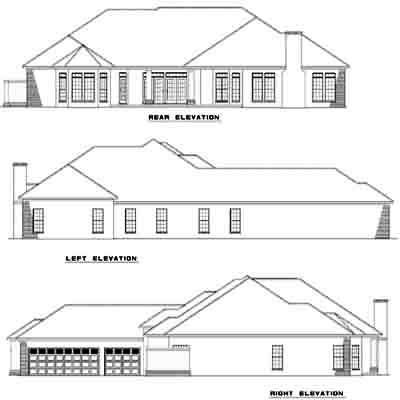 Rear Elevations Plan:12-310