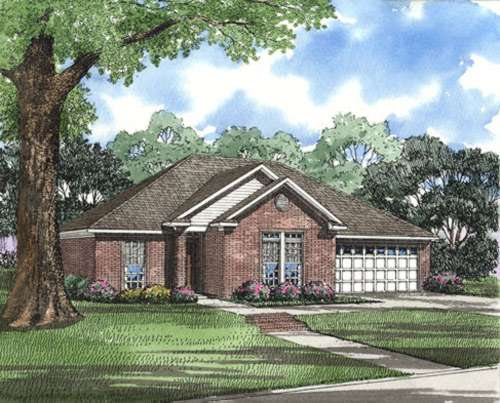 Traditional Style House Plans Plan: 12-311