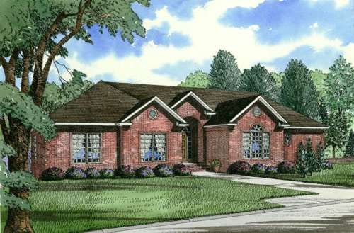 Traditional Style Floor Plans Plan: 12-312