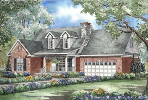 Southern Style Floor Plans Plan: 12-313