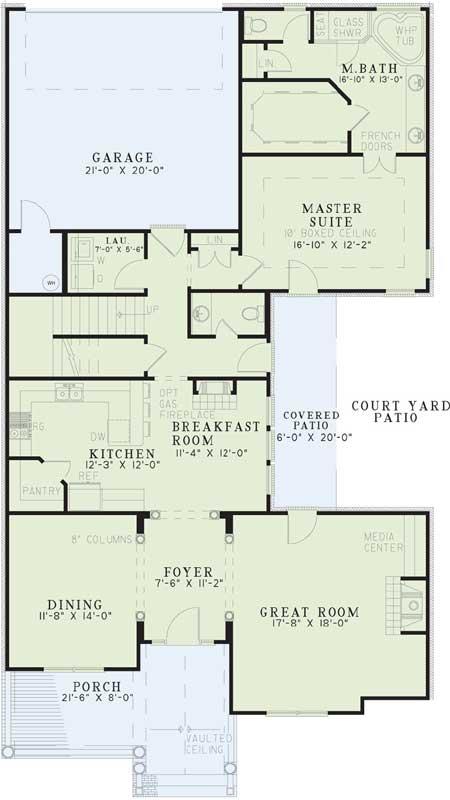 Main Floor Plan: 12-314