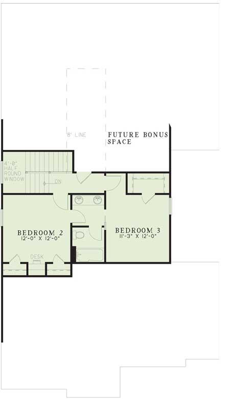 Upper/Second Floor Plan: 12-314
