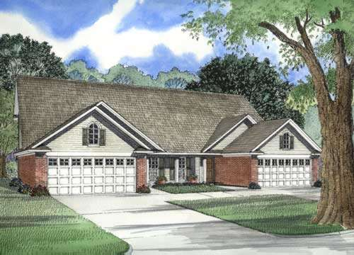 Traditional Style Floor Plans Plan: 12-317