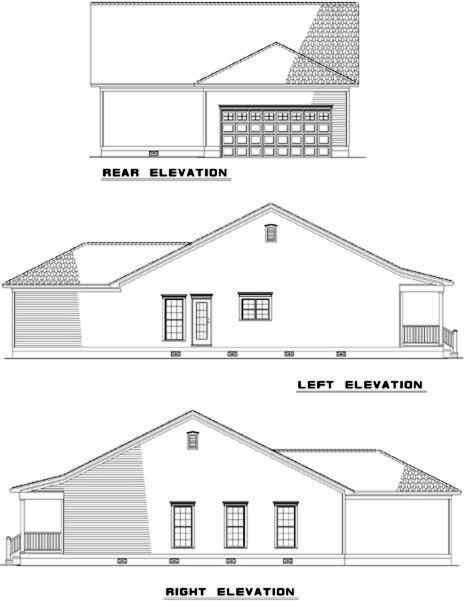 Rear Elevations Plan:12-319