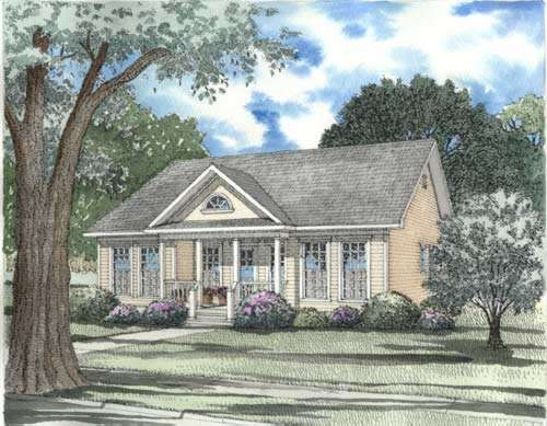 Southern Style House Plans Plan: 12-324