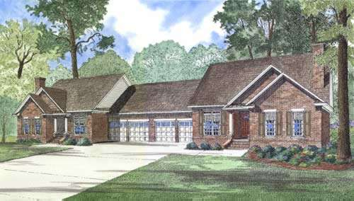 Traditional Style House Plans Plan: 12-327