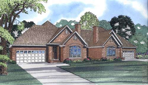 Traditional Style House Plans Plan: 12-328