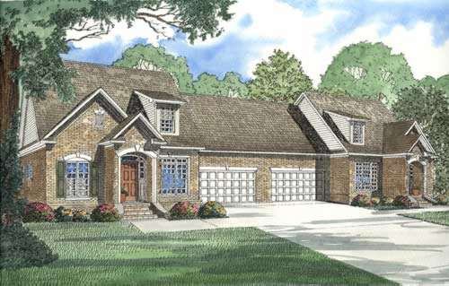 Traditional Style Floor Plans 12-329