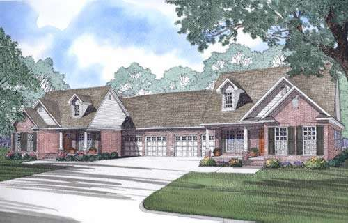 Traditional Style Home Design Plan: 12-330