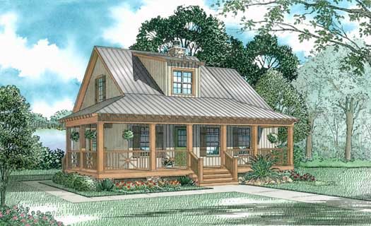 Country Style Floor Plans Plan: 12-338