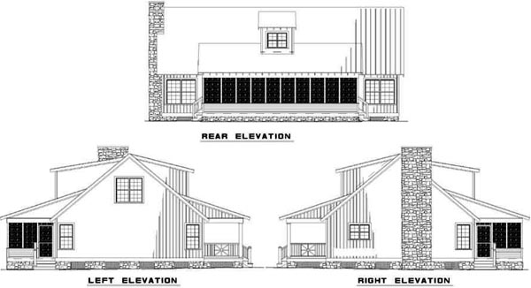 Rear Elevations Plan:12-339