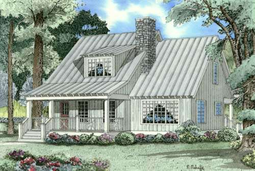 Country Style Floor Plans Plan: 12-345