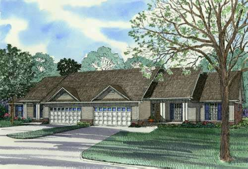 Traditional Style House Plans Plan: 12-346