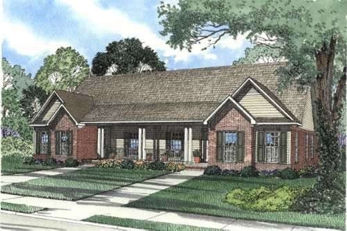 Traditional Style House Plans Plan: 12-348