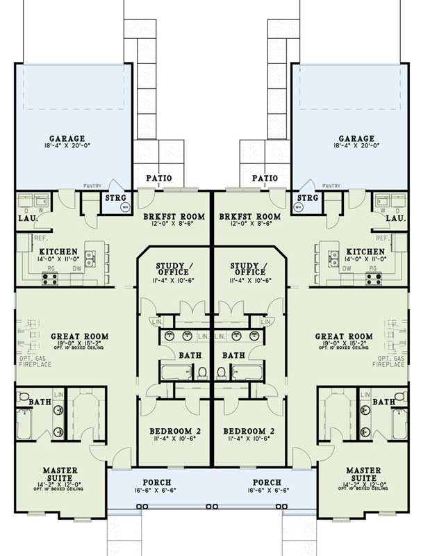 Main Floor Plan: 12-348