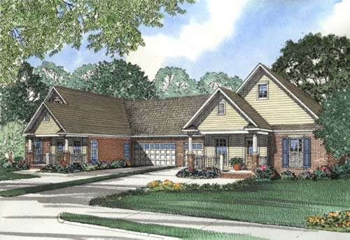Traditional Style Floor Plans 12-352