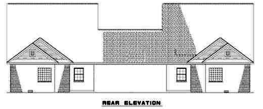 Rear Elevations Plan:12-354